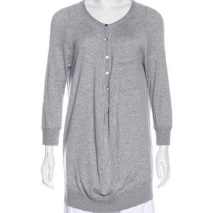 Vince Grey long sleeve shirt tunic